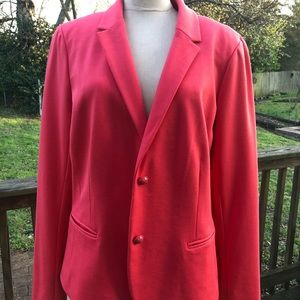 GAP Academy Blazer in coral/red sz. 16 Tall